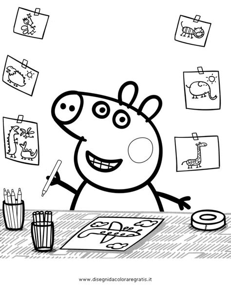 peppa pig at the beach coloring pages peppa pig picnic colouring pages page 2