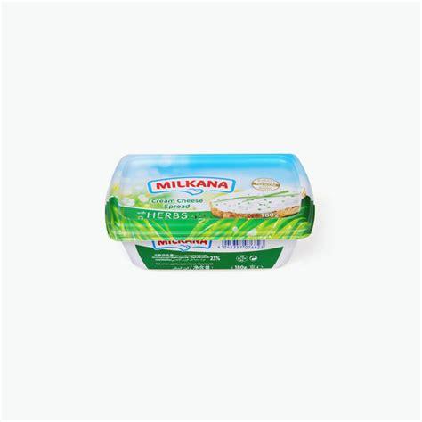 Cheese Milkana milkana cheese spread herbs 180g