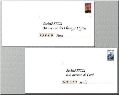 Présentation Lettre Adresse Presentation Enveloppe Courrier