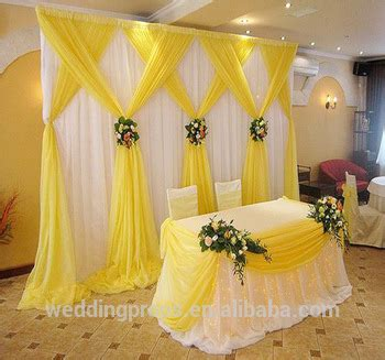 customize romantic backdrop curtain drape fabric wedding