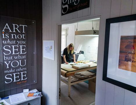 ginger the art of print gicleé printing in warwick
