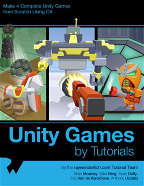 unity tutorial written unity games by tutorials ray wenderlich