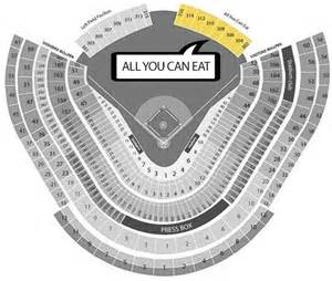 all you can eat section dodgers how much are all you can eat dodgers tickets right field