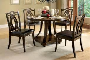 Round Dining Room Table For 4 Round Dining Tables For 4 Chairs Set Eva Furniture