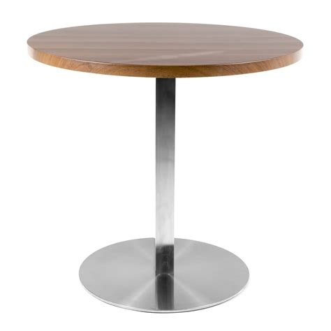 Cafe Table by Walnut Veneer Cafe Table Cult Uk