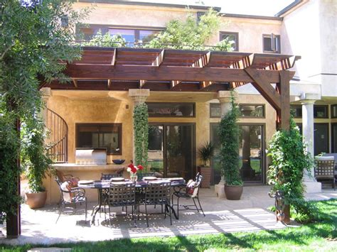 tuscan pergola 10 mediterranean inspired outdoor spaces hgtv