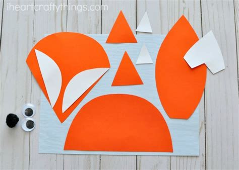 fox craft for woodland animals newspaper fox craft i crafty things