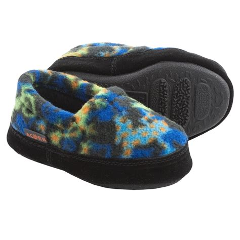 acorn polar slippers acorn polar slippers fleece for boys and in