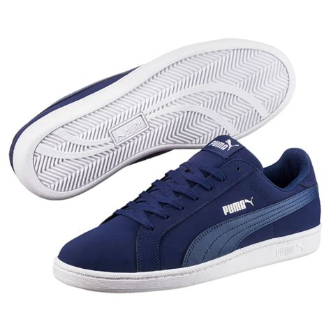 low top sneakers mens mens smash buck low top sneakers blue depths blue