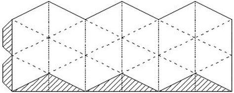 printable flextangle kaleidocycle or flexahedron remarkable finds pinterest