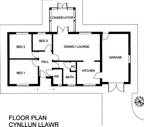 3 bedroom floor plan bungalow blaenpant 3 bedroom timber frame bungalow with