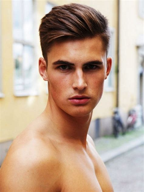 best hairstyle for thin face men best mens haircuts for oval faces hairstyle ideas and