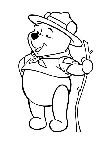 winnie the pooh characters coloring pages free printable winnie the pooh coloring pages for kids