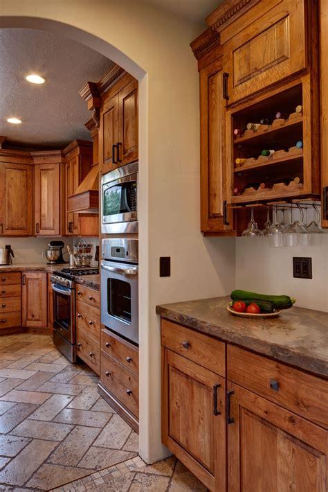 contemporary craftsman kitchen design traditional crown cabinets ridgeline xl knotty cherry ginger brown