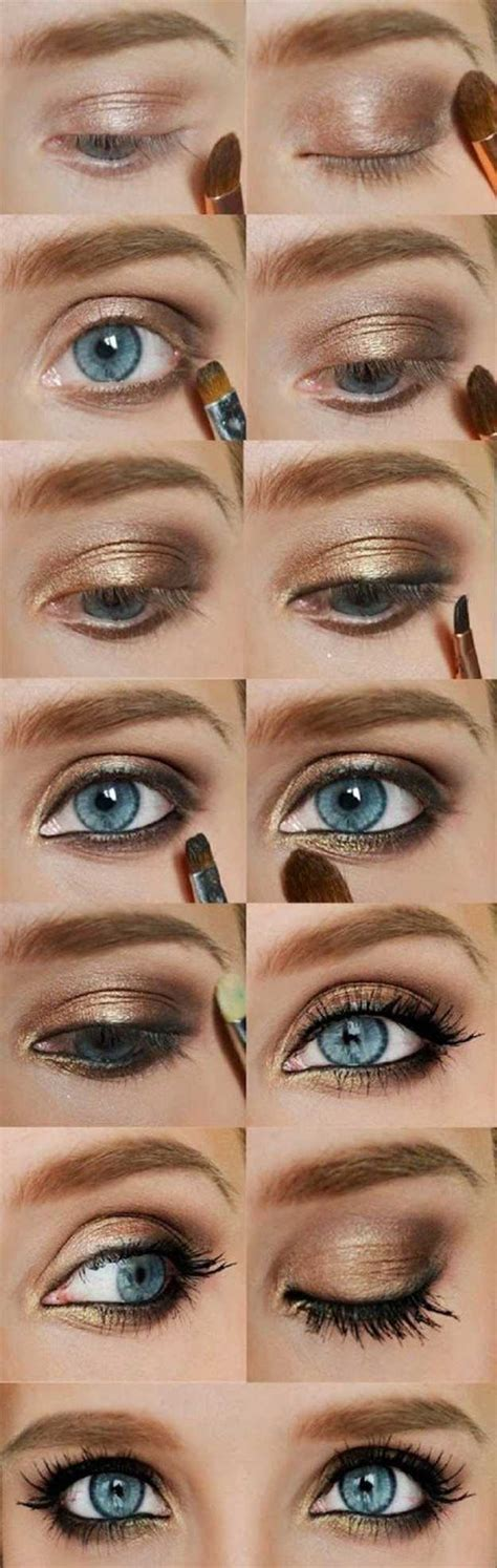 eyeliner tutorial for blue eyes colorful eyeshadow tutorials for blue eyes makeup tutorials
