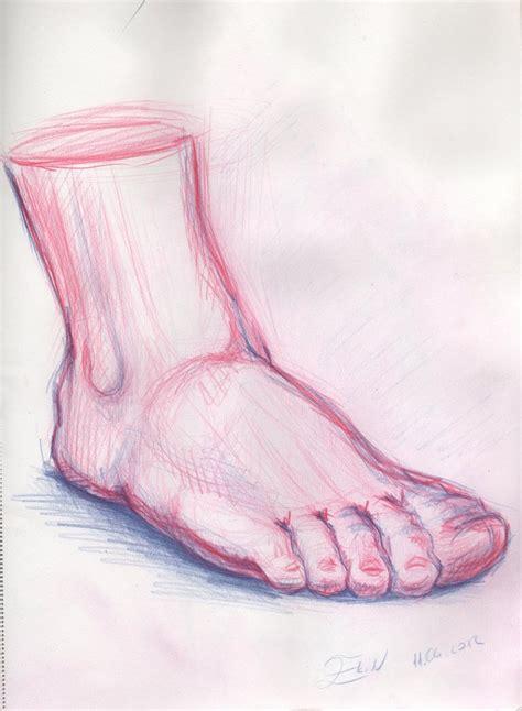 drawing foot sketch by brokensticksorginalo on deviantart