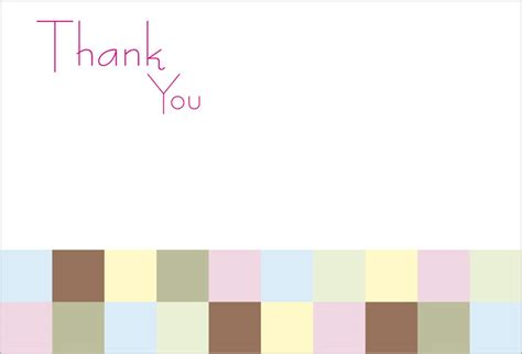 Thank You Letter Blank Template Thank You Card Popular Images Blank Thank You Card Template Free Blank Greeting Card Templates