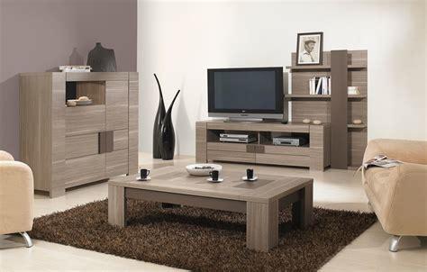 meuble de salon en bois meuble tv contemporain en bois conforama photo 2 10