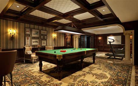 billiards room billiard room 3d model max cgtrader