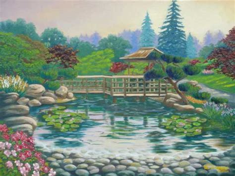 National Geographic Wall Mural hayward japanese garden by tan nguyen