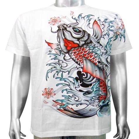 yakuza tattoo shirt japanese yakuza mob gangster tattoo koi carp pond lake
