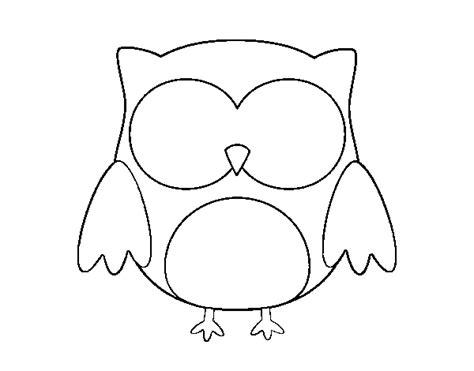 dibujo de buho para colorear dibujos animados para colorear buhos imagui