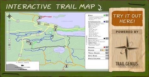 copper trail map copper harbor trails interactive map try paul s plunge in