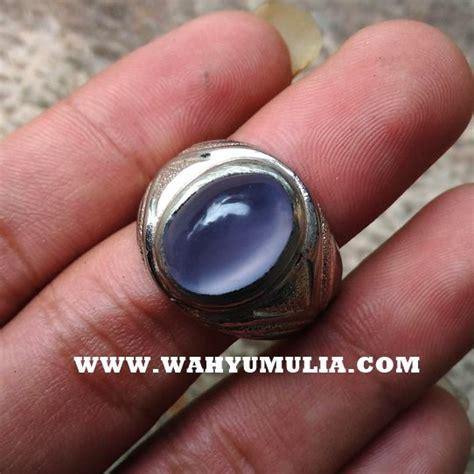 Spritus Muda Anggur batu cincin anggur spirtus akik biru langit baturaja asli