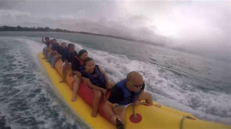banana boat ride youtube banana boat ride boracay 2014 youtube