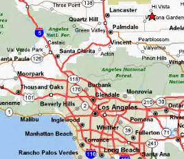 lancaster california map