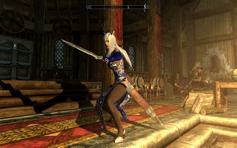 Skyrim Anime Mod Girls | skyrim anime hair mods images