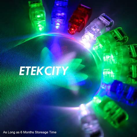 light up favors etekcity 174 wholesale 100pcs led finger light up ring laser