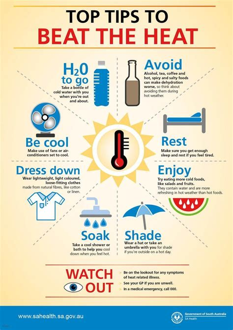 9 Tips For Coping With The Heat by Tips On How To Beat The Heat Summer Time