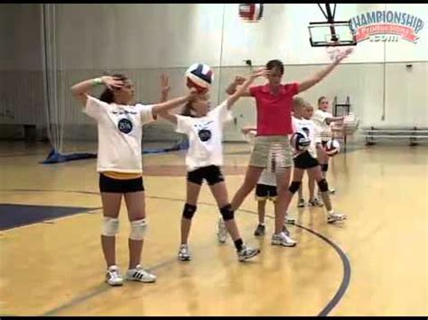 volleyball setting drills by yourself mastering the underhand pass volleyball drills videos and