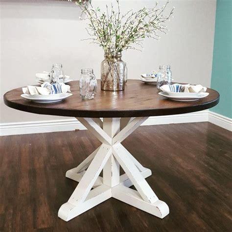 stunning handmade rustic  farmhouse table