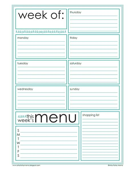 printable planner pages pdf weekly planner pages pdf dysk google printer pinterest