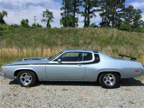 plymouth satellite 1973 1973 to 1975 plymouth satellite for sale on classiccars
