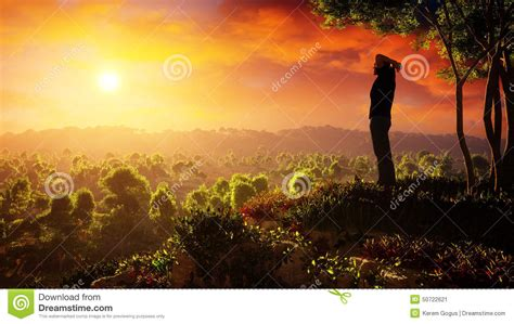 new day a new day of rises stock illustration image 50722621