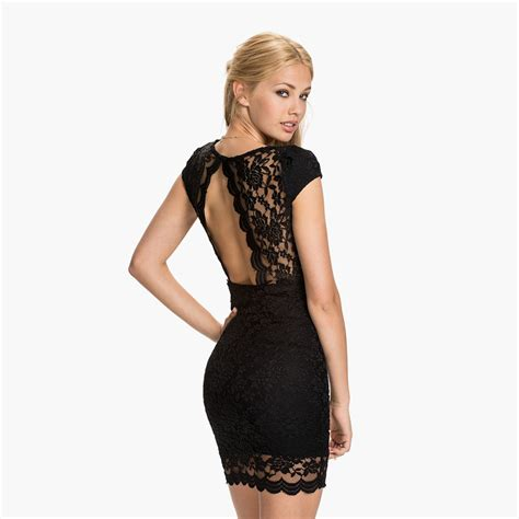 V Neck Lace Bodycon Dress v neck rounded back lace bodycon dress s shop