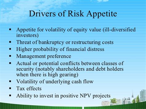 Mba Financial Management Ppt by Financial Risk Management Ppt Mba Finance