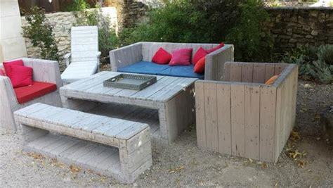 diy pallet furniture for patio