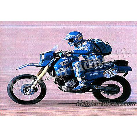 Sticker Yamaha 600 Xt by Autocollants Stickers Yamaha Tenere 600 Alger Dakar