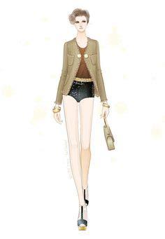 fashion illustration adobe illustrator 1000 images about jillhear s fashion illustrations on