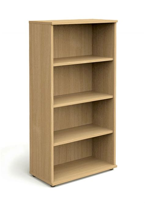 oak office bookcase 1600mm high aspire bookcase et bc 1600