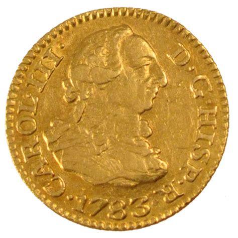 monnaies espagne coins spain espagne charles iii demi