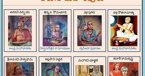 telugu kavulu photos with names telugu web world list of telugu maha kavulu