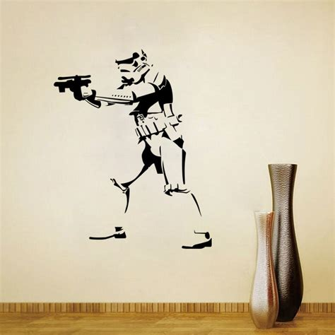 wars wall sticker wars wall stickers home decor living room diy