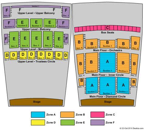 detroit opera house seating map detroit opera house detroit tickets