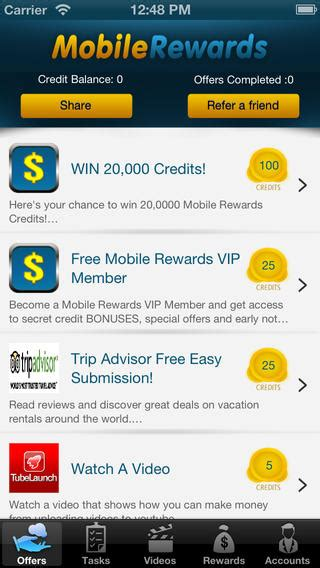 mobile rewards 7 ios apps that can earn you or rewards sellcell
