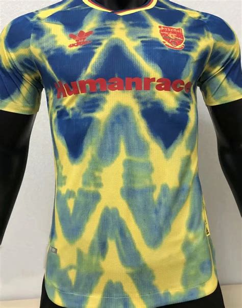 arsenal humanrace classic soccer jerseys  player